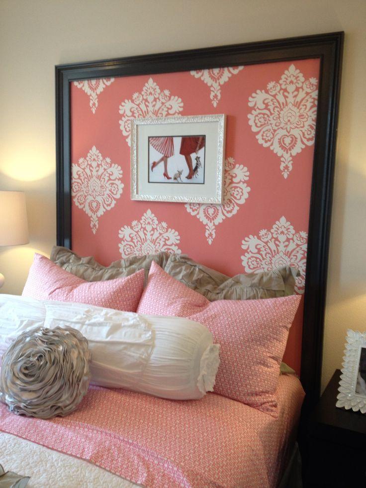 165 best headboards images on pinterest bedroom ideas for Headboard cover ideas