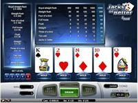 Jacks or Better - 1 hand - Play video poker for free!