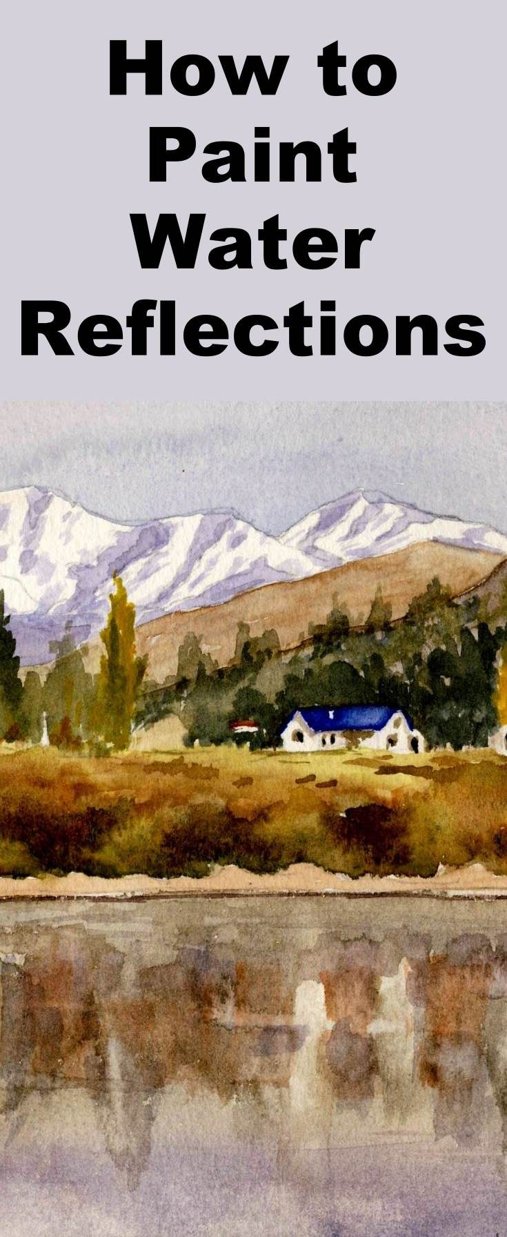 Learn how to paint reflections on the water with this watercolor painting class