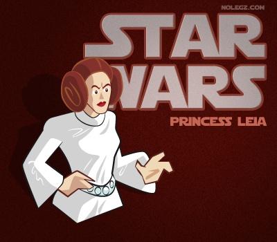 Star Wars by Nolegz.com - Princess Leia