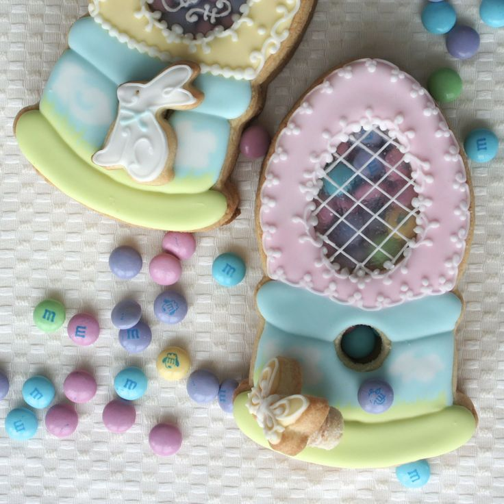 534 best cookies easter images on pinterest decorated cookies montreal confections cookies for hanielas easter extravaganza edible gumball machine cookies negle Gallery