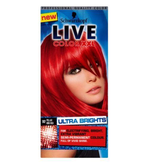 Schwarzkopf Live Color Xxl Ultra Brights 92 Pillarbox Red