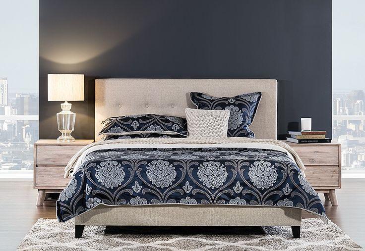 Arya King Bed | Super A-Mart