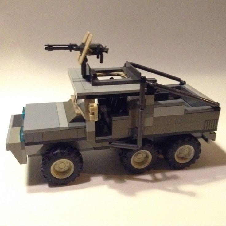 Il mio camion fatto con pezzi megabloks e lego compatibili.