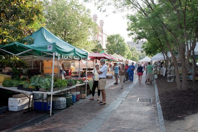 Charleston's Farmers Market | 8am-2pm Saturday's