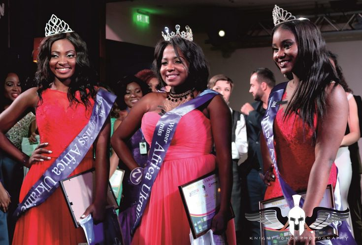 See the winner of Miss Africa Ukraine 2017 with the 1st and 2nd runner-up - Gemssblog