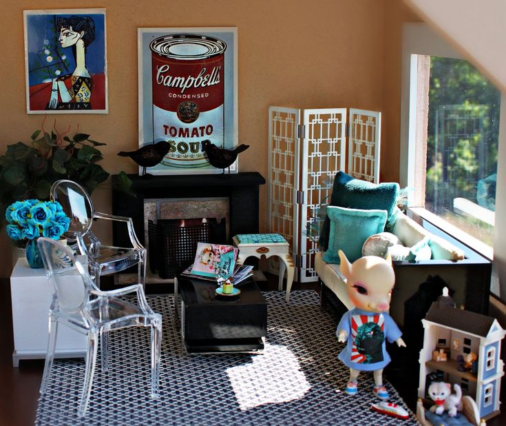Interiors Design Interviews: Interview Petunia: Blythe Dollhouse Furniture