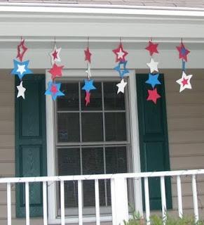 hanging stars: July Decoration, Stars, Decoration Idea, Spreads Patriots, 4Th Of July, July 4Th, Patriots Cheer, Dawn Crafts, Crafts Foam