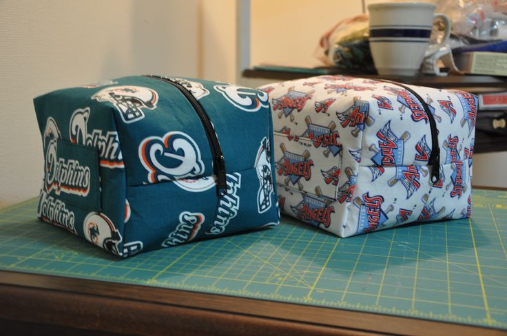 Toiletry Bag For Men Made With Pattern Tutorial Linked To