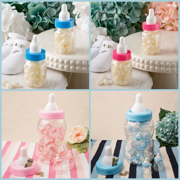 DIY Blank Baby Shower Party Favors from HotRef.com