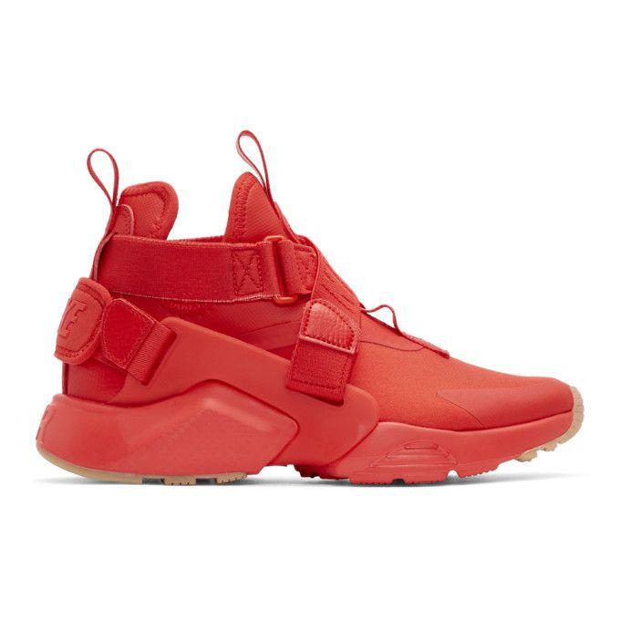 NIKE | Red Air Huarache City Sneakers