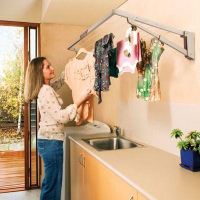 Hills® Supa Fold Mini Washing Line – Beige