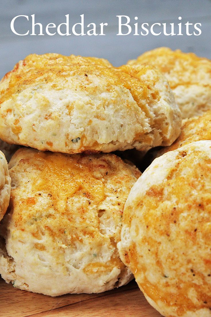 How To Make Cheddar Biscuits From Scratch