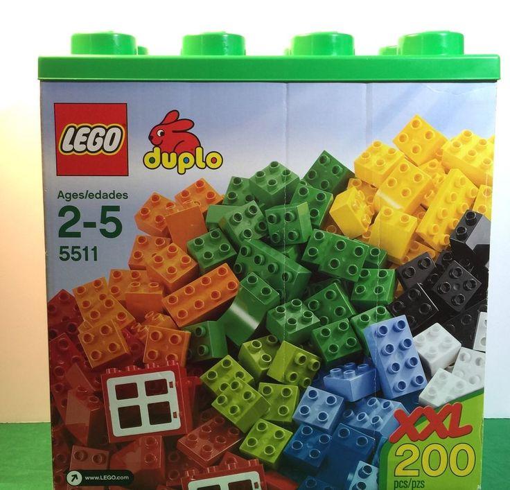 2011 Lego Duplo XXL 200 Piece Preschool Building Toy Age 2 Original Box | eBay