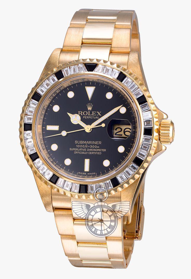 Buy Rolex Submariner Custom Diamonds in Moscow