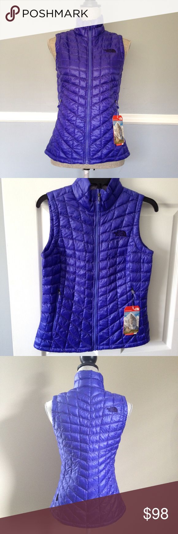 North Face Thermoball Vest NWT- Starry Purple North Face Jackets & Coats Vests