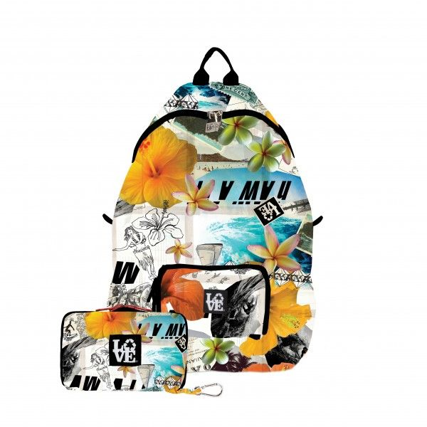 Stash Backpack- The Ultimate Lightweight Backpack in Fun Prints.