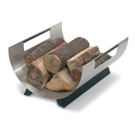 Tempo Indoor Firewood Rack - Stainless #LearnShopEnjoy