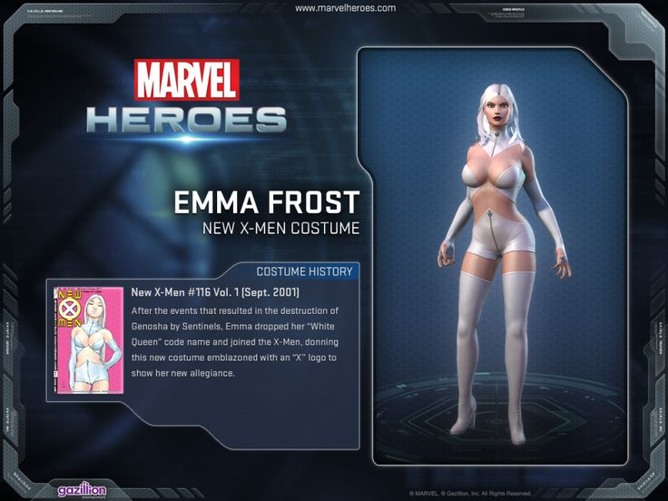 Marvel Heroes MMO 1.2 Gets Emma Frost, Black Cat, Extra Modes And Gameplay Videos  http://gg3.be/2013/09/06/marvel-heroes-mmo-1-2-gets-emma-frost-black-cat-extra-modes-and-gameplay-videos/