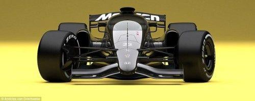 Cette McLaren est bien moins belle en noir !