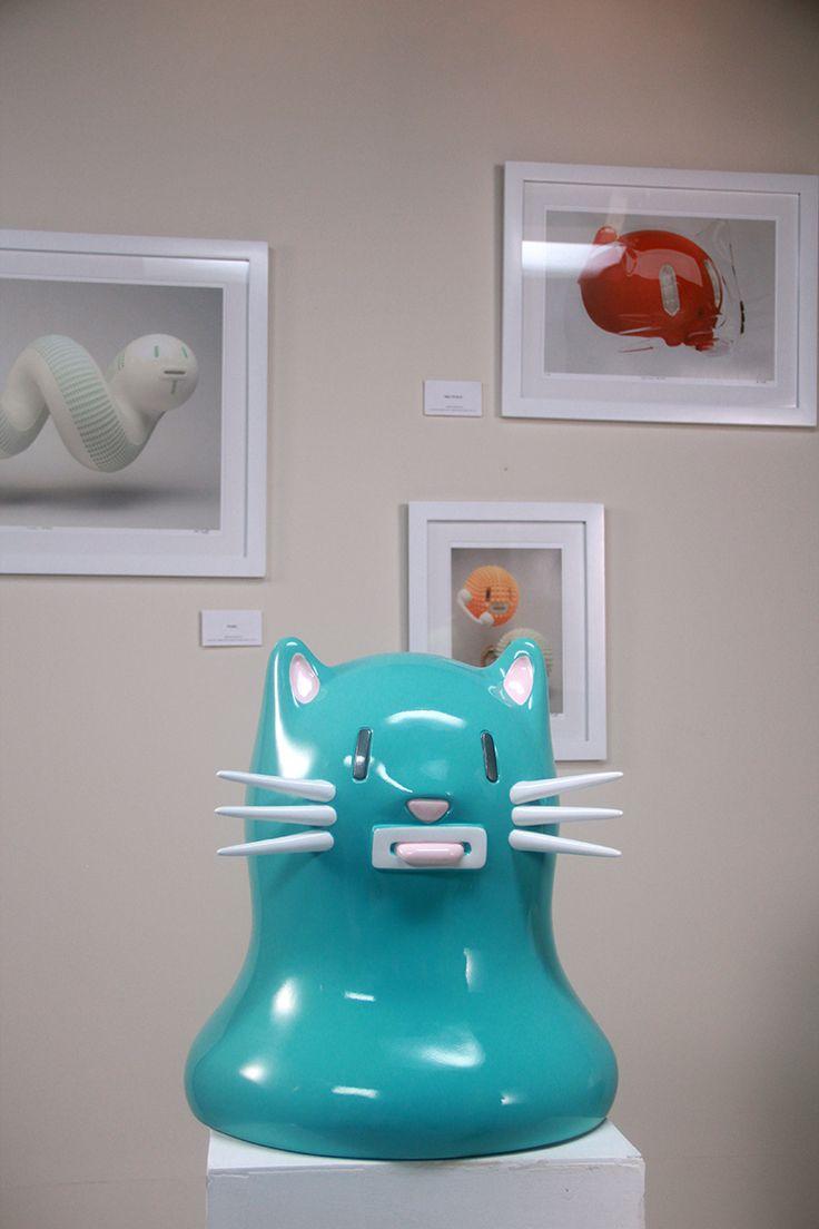 mr kat sculptures on behance - Feldstein Kaminsimse