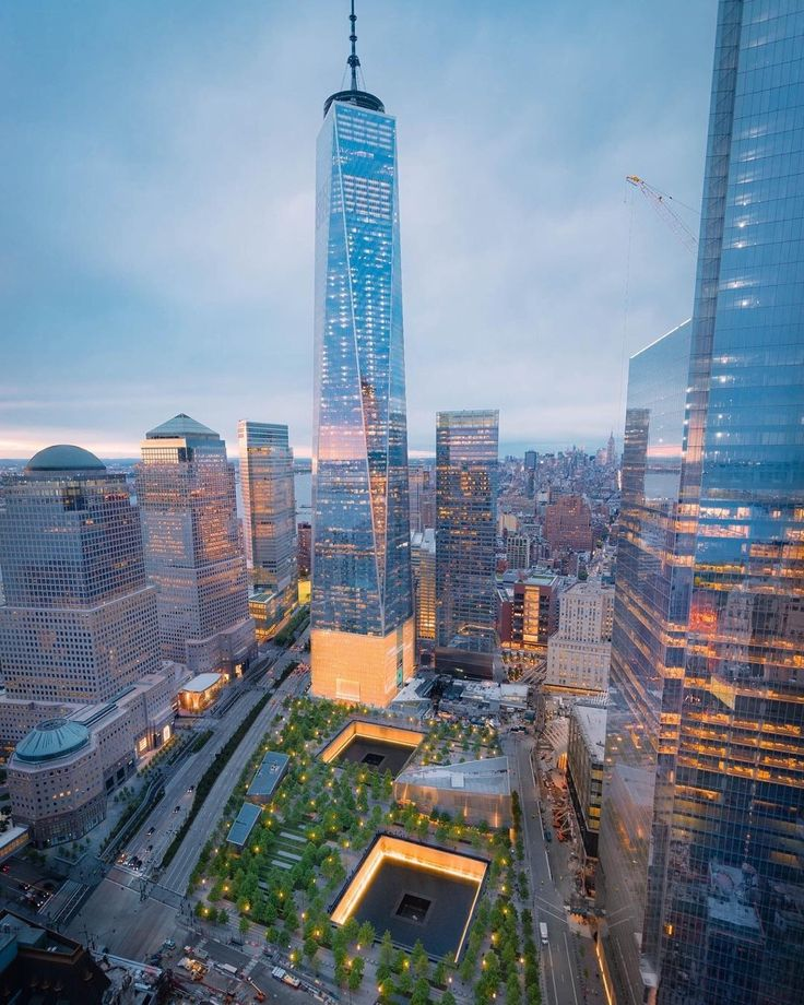 One World Trade Center by opoline