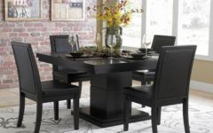 Beautiful Black Dining Room Sets