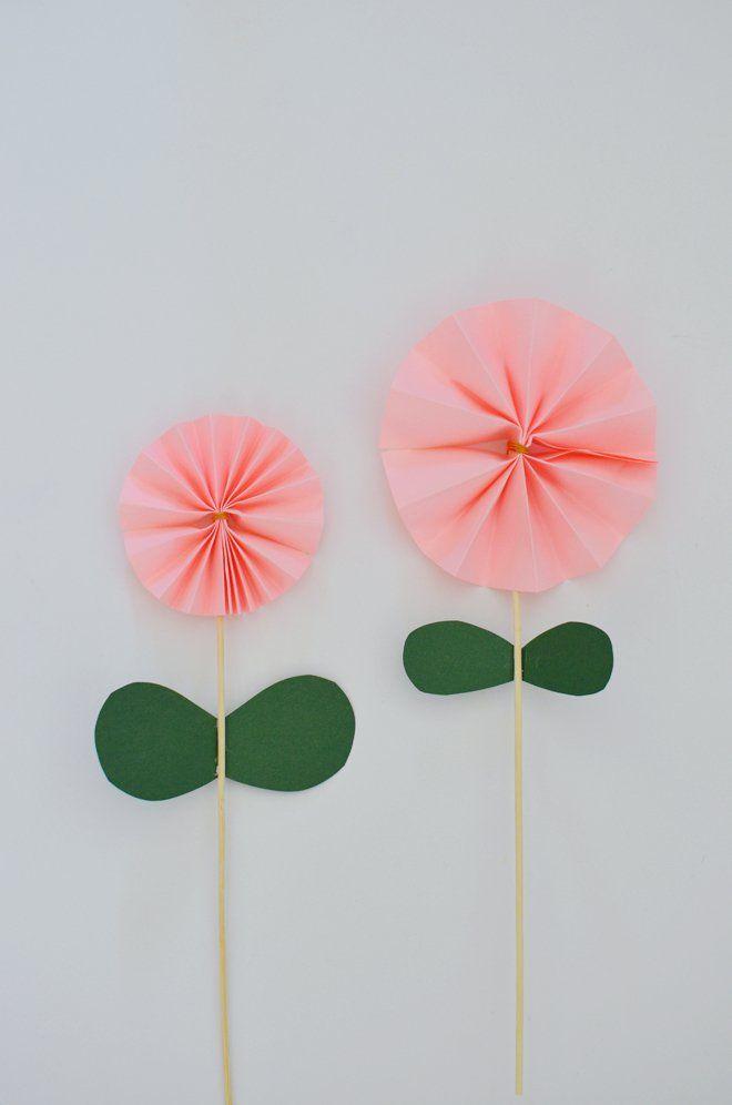 Blumen Basteln 3 Anleitungen Und 30 Tolle Ideen Bodenbett