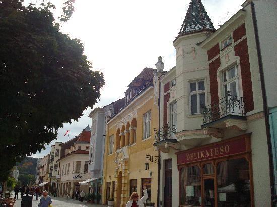 Piešťany, Slovakia... Near my grandparent's village