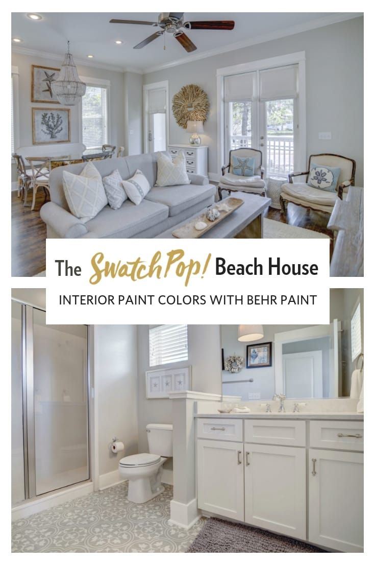 Beach House Renovation Choosing The Best Neutral Paints With Behr