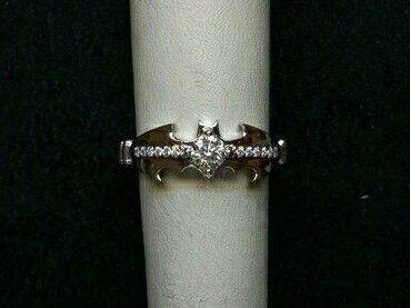 Diamond Batman ring! I WOULD DIE WITH JOY