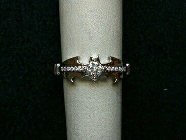 Diamond Batman ring!