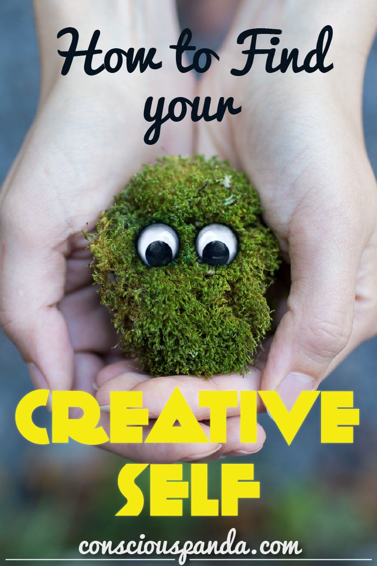 How to Find your Creative Self - Luckily there are things you can do that help to boost and stimulate the creative areas of the brain. Here is how to find your creative self with simple tips.