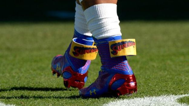 "Cam Newton's ""SuperCam"" Cleats by Under Armour"