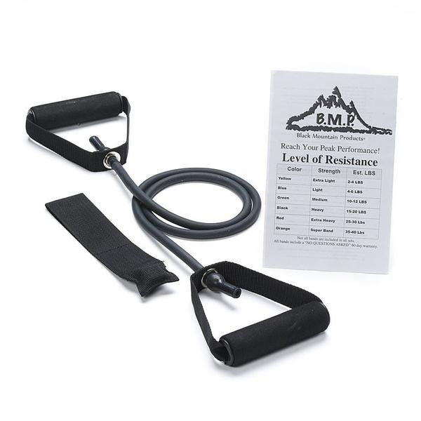 Fitness Stocking Fillers - Single Resistance Band with Door Anchor 6 - 9 Kg