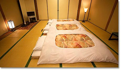 Image result for traditional japanese beds