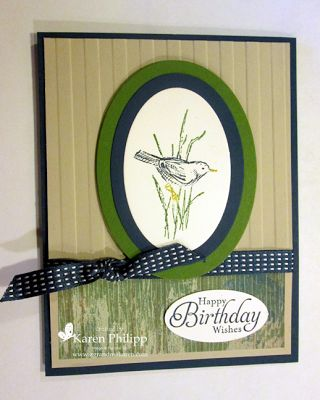 Stampin' Up! Cards, Birthday