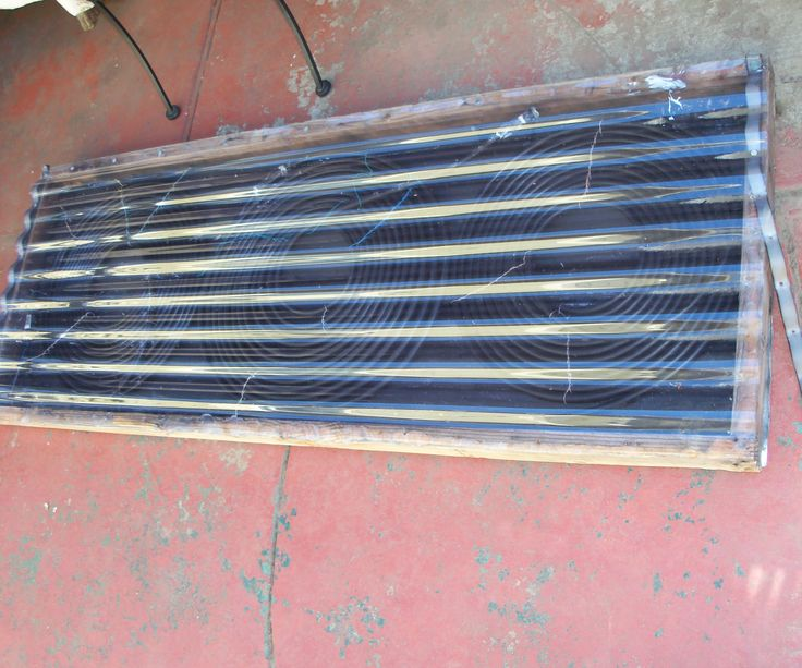 Cheap Solar Hot Tub/spa/pool Water Heater (With images