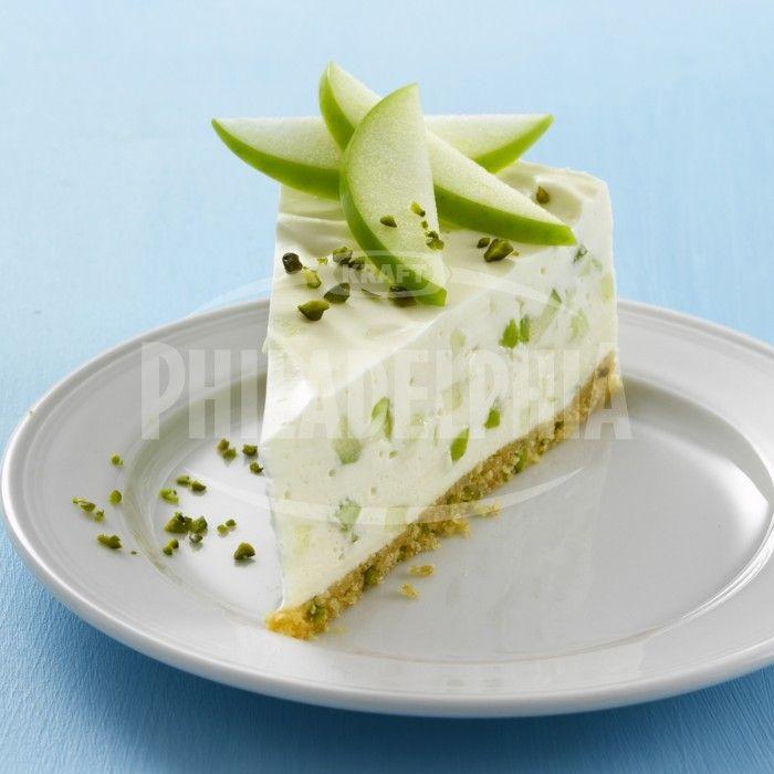 """Dort """"Zelené jablko"""" - Dezerty - recepty - Sýr Philadelphia"""