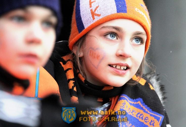 Football game watching, AaFK- Norway
