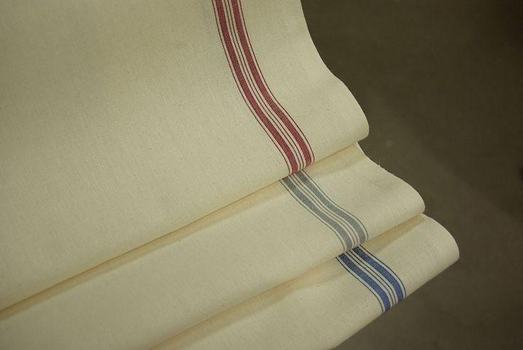 Toile à torchon en coton, 60cm de large, disponible au rayon ameublement de votre magasin Ellen Décoration.