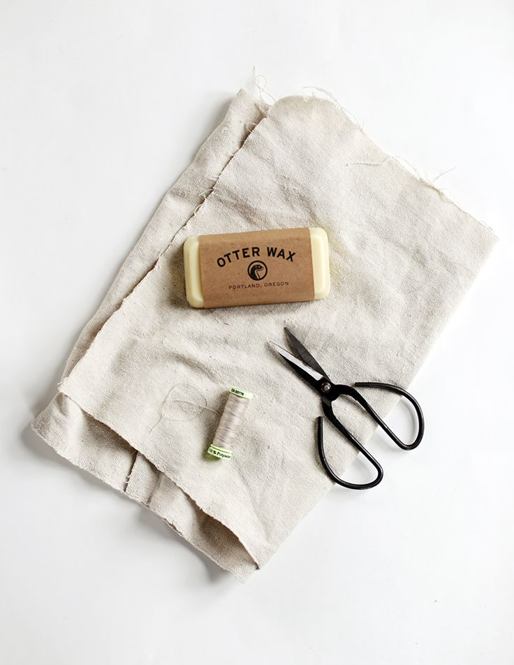 DIY Waxed Canvas @themerrythought