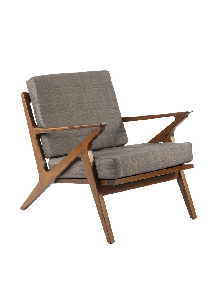 Control Brand Tamholt Lounge Chair, Light Brown Teak
