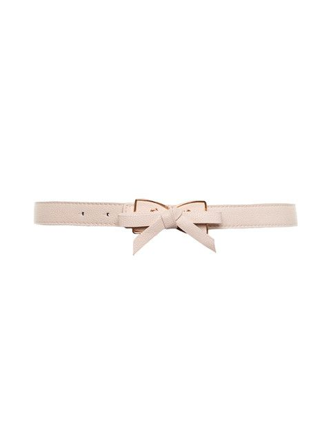 Tie My Bow Belt in Champagne