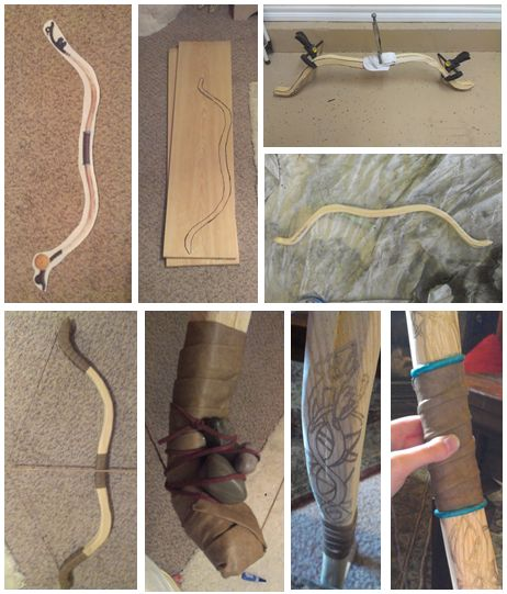DIY Merida's bow -- AAAAH- this will make Tauriel's bow so much easier!