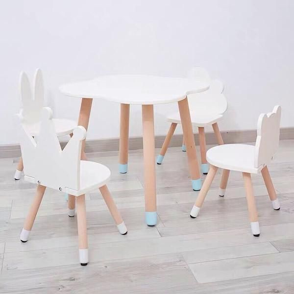 Fun Wooden Kids Table And Chairs Set In 2020 Kids Table And