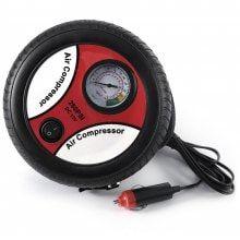 Electric Car Tire Inflating Pump Portable Air Compressor Bottom Random