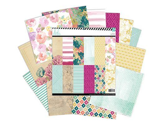 wanderlust 12 x 12 patterned paper pad « Heidi Swapp