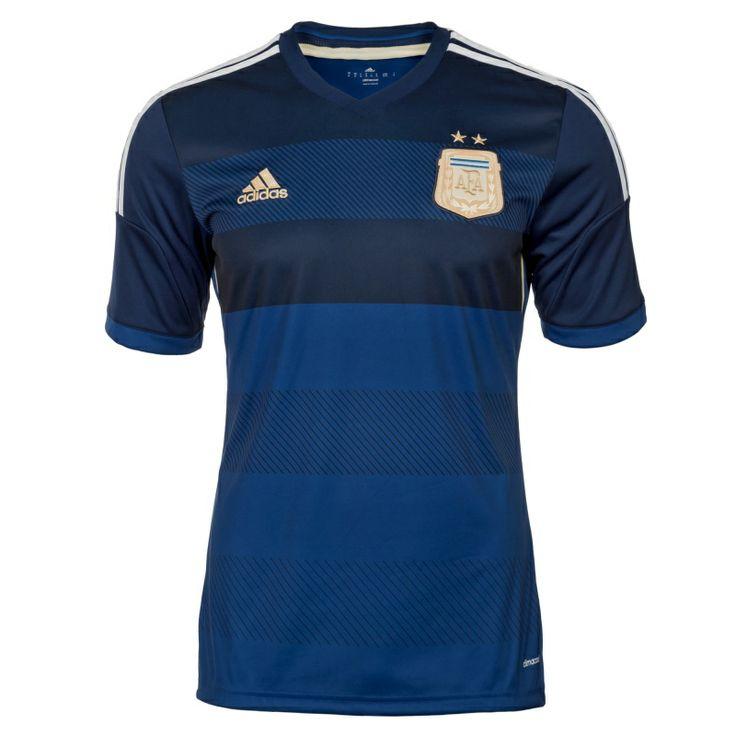 Adidas Argentinien Trikot Away WM 2014 blau/gold/weiß - kaufen & bestellen im BILD Shop