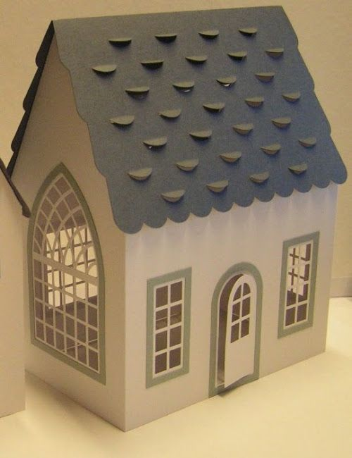 CASITA DE PAPEL: dollhouse paper: gazebos by Monica
